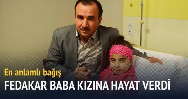 Din görevlisi baba kızına hayat verdi