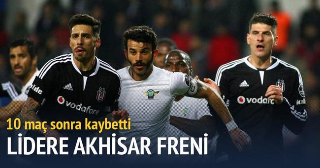 Beşiktaş'a Akhisar Belediyespor freni