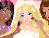 Barbie ve Nedimelerine Makyaj