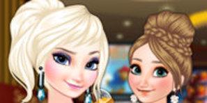 Frozen Kardeşler Sinema'ya Gidiyor