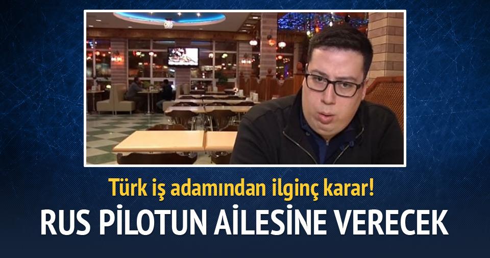 Rusya'daki Türk işadamından ilginç karar