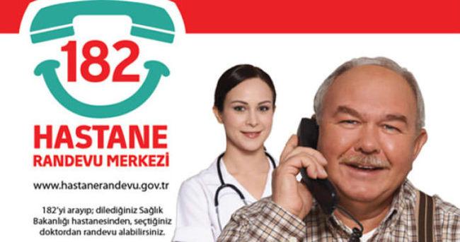 MHRS ve ALO 182 üzerinden hastane randevusu alma