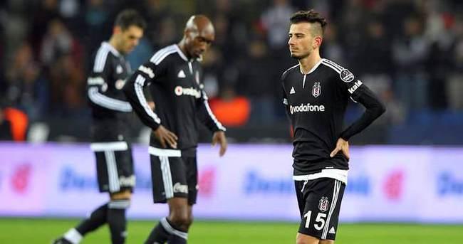 Beşiktaş iç sahada kaybediyor