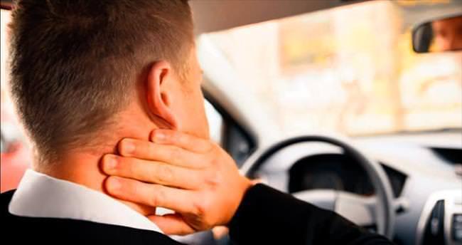 Araç içinde egzersiz yapmak vücudu korur