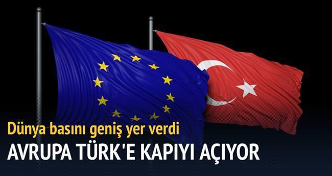 'Avrupa, 75 milyon Türk'e kapıyı açıyor'