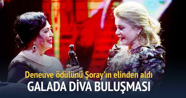 Galada Diva buluşması