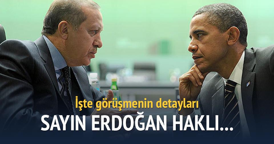 Paris'teki Erdoğan-Obama görüşmesi sona erdi
