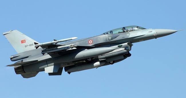 Suriye sınırında 6 F-16'yla devriye uçuşu yapıldı