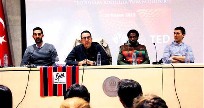 TED Ankara Kolejliler öğrencilerle buluştu