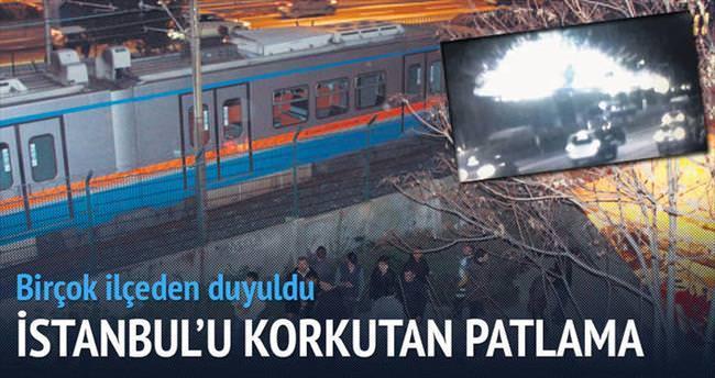 Bayrampaşa'da patlama: 1 yaralı