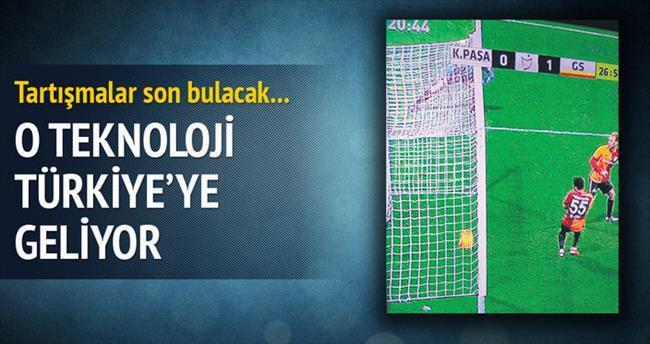 O teknoloji Türkiye'ye geliyor