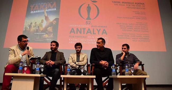 'Takım: Mahalle Aşkına' filminin galası yapıldı