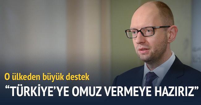 O ülkeden Türkiye'ye büyük destek