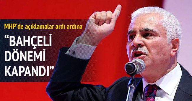 MHP'li Aydın: Bahçeli devri kapandı