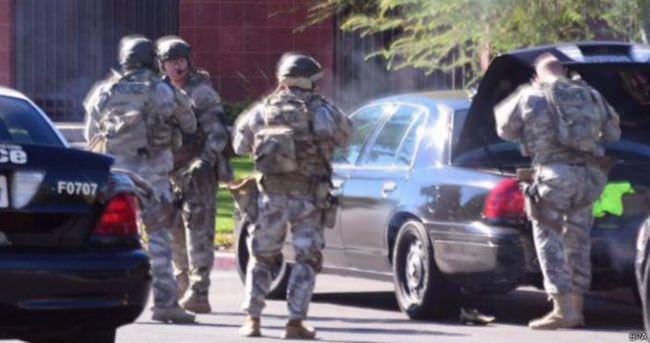 Kaliforniya'da silahlı saldırı düzenleyenler öldürüldü
