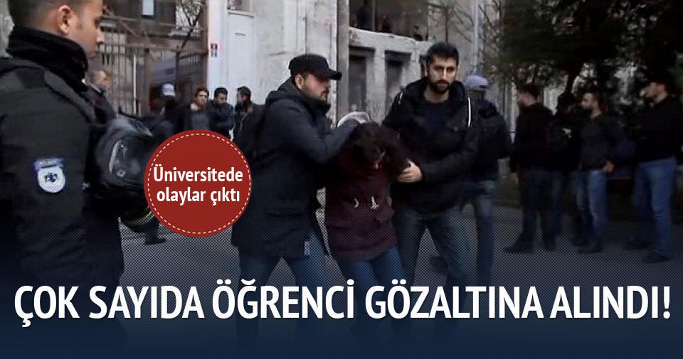 İstanbul Üniversitesi'nde olaylar çıktı!