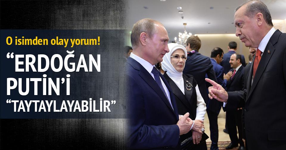 Alev Alatlı: Erdoğan Putin'i taytaylayabilir!