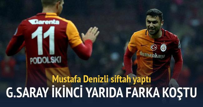 Galatasaray Bursaspor'u farklı geçti