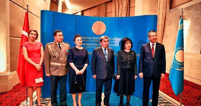 Kazakistan'a bağımsızlık kutlaması