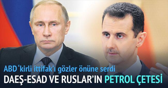 DAEŞ-Esad ve Ruslar'ın petrol çetesi