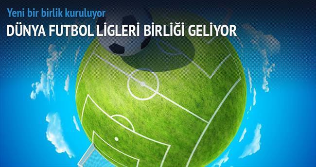 Dünya Futbol Ligleri Birliği geliyor
