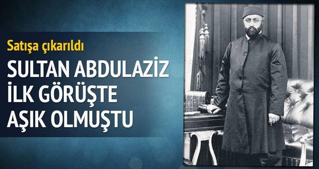 Sultan Abdülaziz'in ilk görüşte âşık olduğu tablo satışta