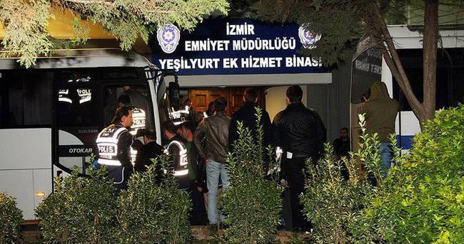 İzmir merkezli operasyonda gözaltına alınan 13 kişi adliyede
