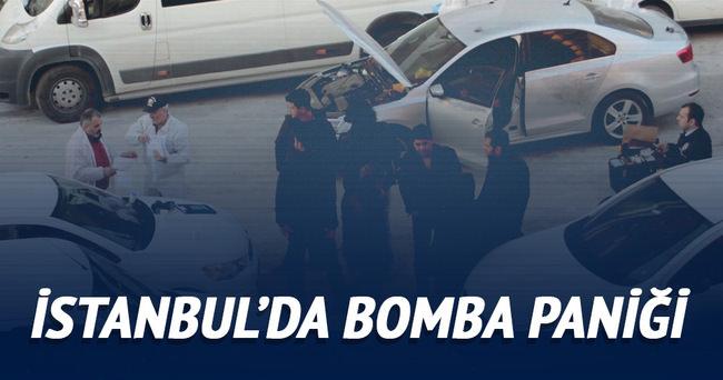 İstanbul'da çalıntı araçta silah ve bomba bulundu