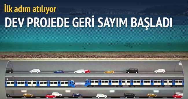 İstanbul Tüneli Projesi ihalesi 23 Aralık'ta