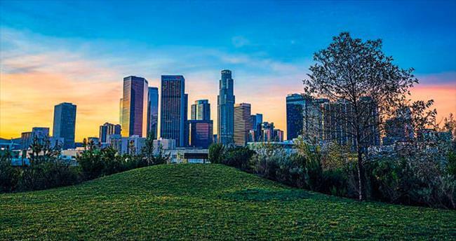 Pozitif enerjisiyle Los Angeles