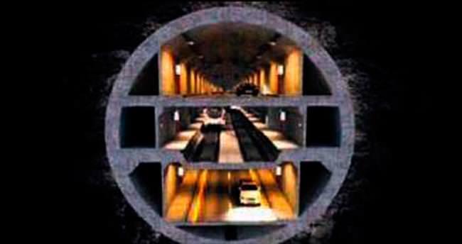 3 katlı tünel ihalesi 23 Aralık'ta