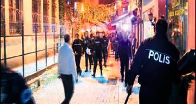 Kumkapı'daki göçmen merkezinde isyan