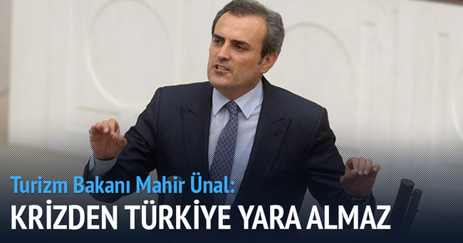 Krizden Türkiye yara almaz