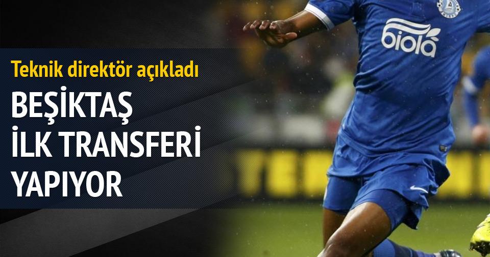 Beşiktaş ilk transferi yapıyor