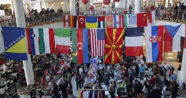 'Diplomatik Kış Pazarı' kermesi