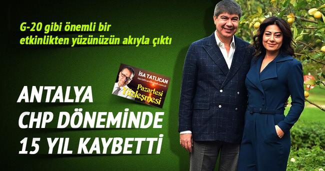 Rusya'nın ambargosu Antalya'yı etkilemez!