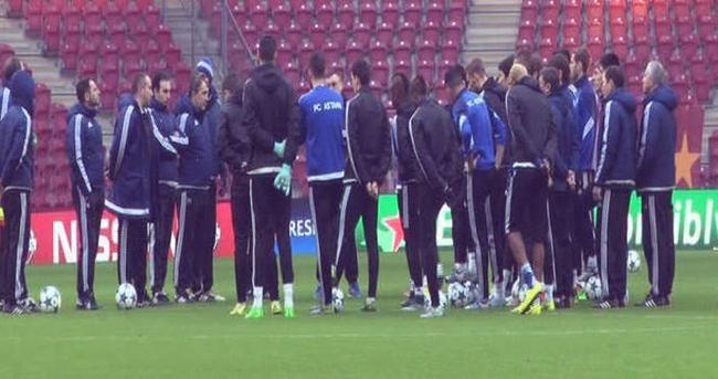 Astana, Galatasaray maçı hazırlıklarını tamamladı