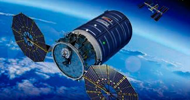 Uzay istasyonu kargosu yola çıktı