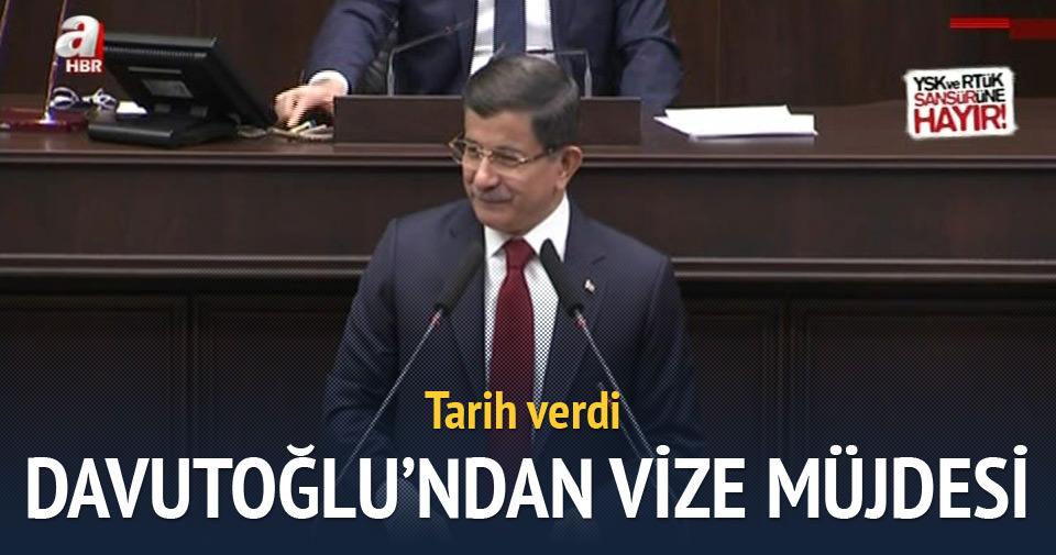 Başbakan Davutoğlu'ndan vize açıklaması!