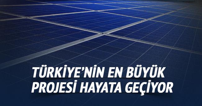 Türkiye'nin en büyük projesi hayata geçiyor