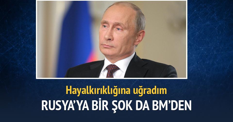 Rusya, BMGK'da istediğini alamadı