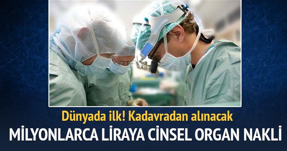 Cinsel organını kaybeden Amerikalı'ya 583 Bin TL'lik organ nakli