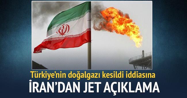 İran'dan doğalgaz kesintisine 'teknik neden' açıklaması