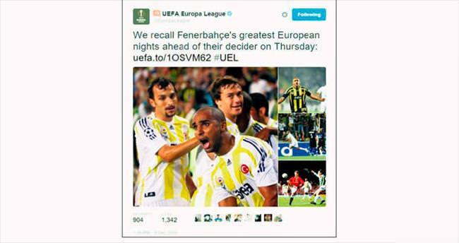 UEFA F.Bahçe'nin zaferlerini hatırlattı