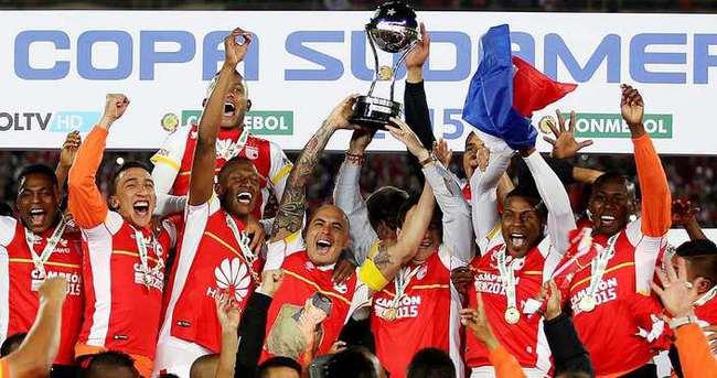 Sudamericana Kupası'nda şampiyon Santa Fe
