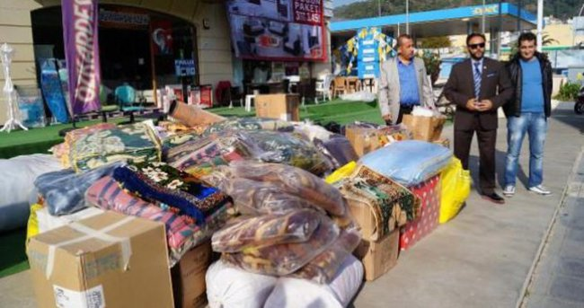 Bayır Bucak Türkmenlerine Türkiye'nin dört bir yanından yardım yağıyor