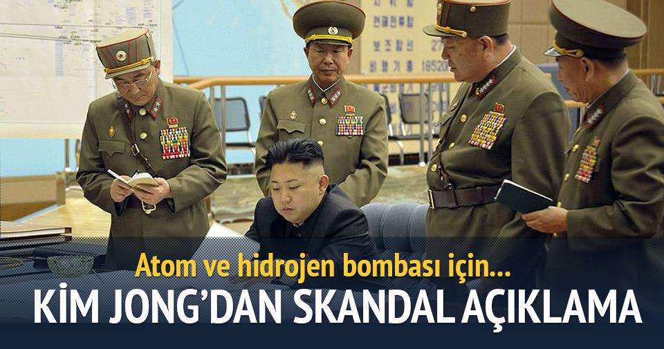 'Kuzey Kore atom ve hidrojen bombası patlatmaya hazır'