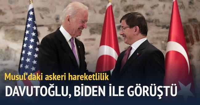Başbakan Davutoğlu'nun Musul mesaisi