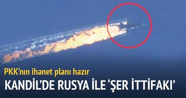 Kandil'de, Rusya ile 'şer ittifakı' zirvesi...