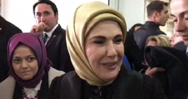 Emine Erdoğan'a Sakarya'da sevgi seli